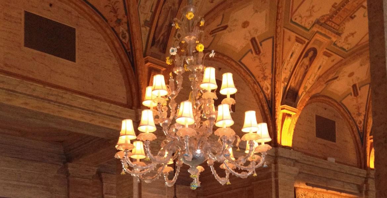 Seguso illuminazione per hotel
