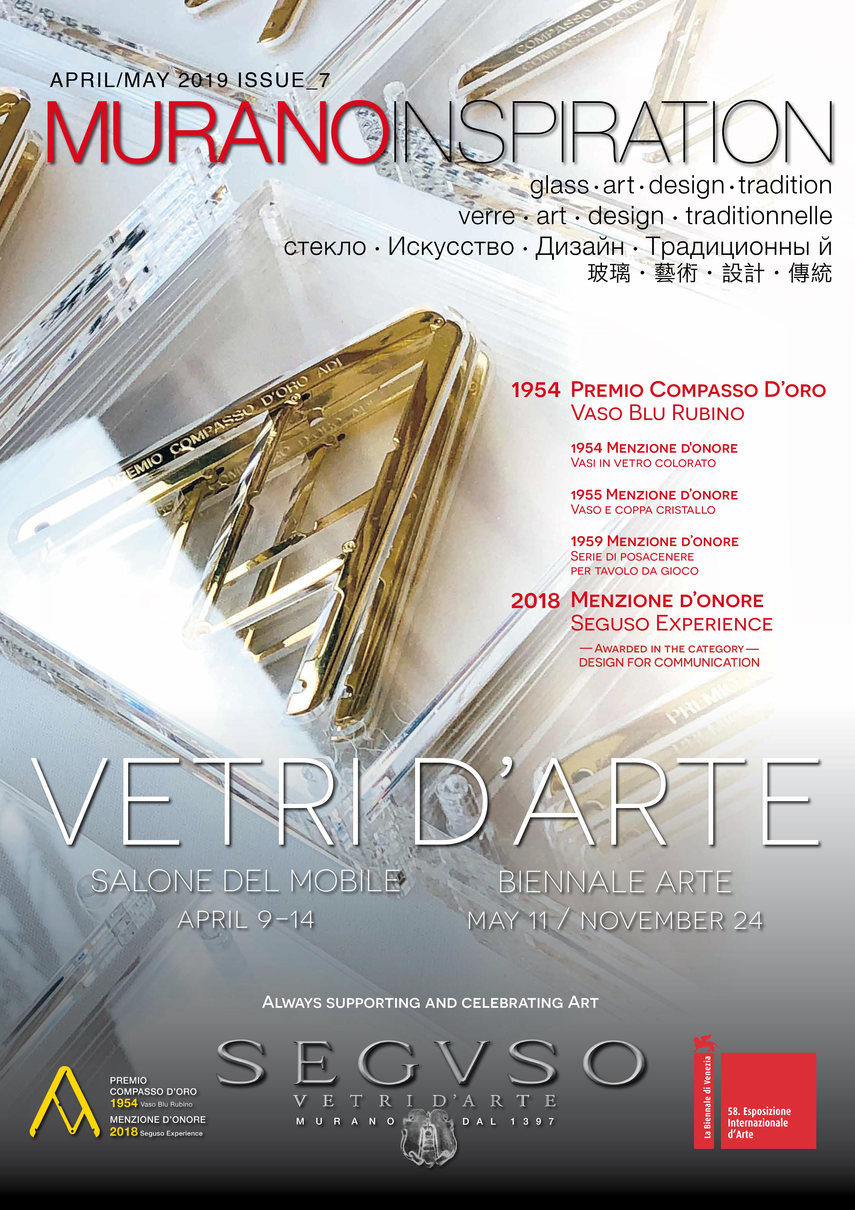 Tavolo Cristallo In Vetro.Seguso Murano Glass Inspiration 2019